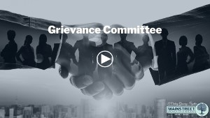 Grievance Committee Overview Video