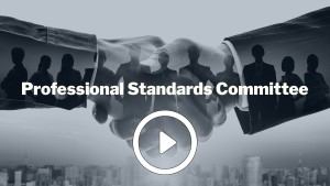 Professional Standards Committee Overview